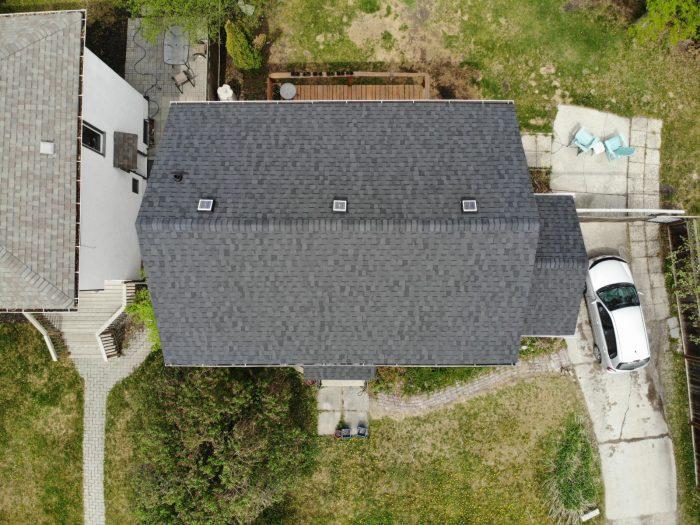 Agassiz Roofing Winnipeg - CertainTeed Landmark Moire Black